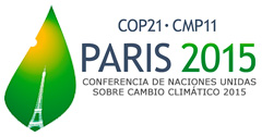 Logotipo del Paris 2015 (COP21-CMP11)