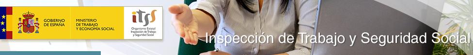 Inspectora de trabajo en su puesto tendiendo la mano