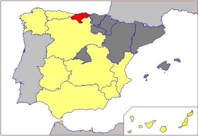 Distribution of Regions of CSF objectives